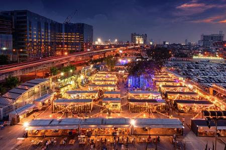 Thai night market gets Singapore twist