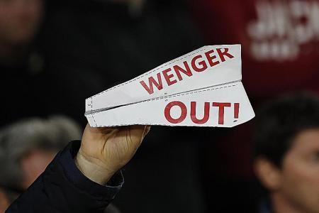 Arsenal on brink of meltdown