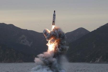 North Korean missile a 'failed test'