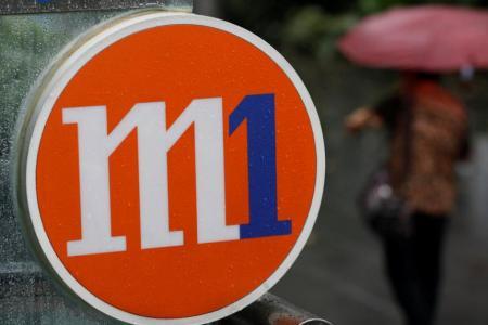 M1's net profit down 14.6% in Q1