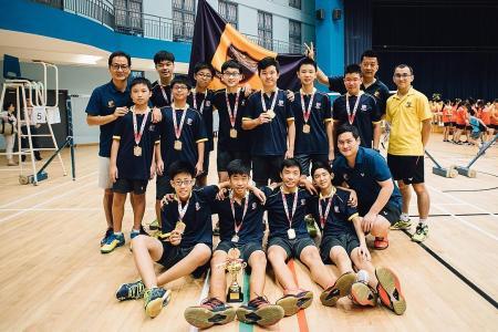 ACS (I) end C Division badminton drought
