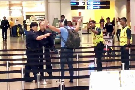 Traveller arrested at Changi Airport for using abusive language against police officers