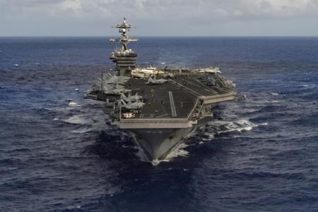 North Korea says it's ready to sink US aircraft carrier