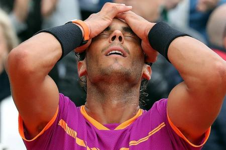 Perfect 10 for Nadal