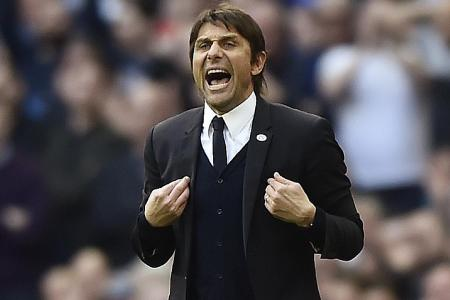 Just stop whining, Conte