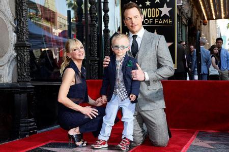 Chris Pratt gets his Hollywood star