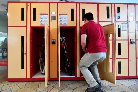 24 PMD lockers installed in Ang Mo Kio