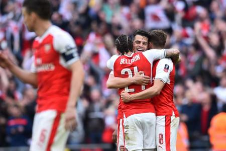 Arsenal want to win FA Cup for Wenger, says Ramsey