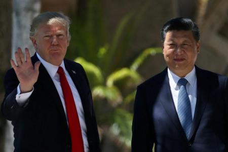 Xi urges Trump to show 'restraint' on North Korea