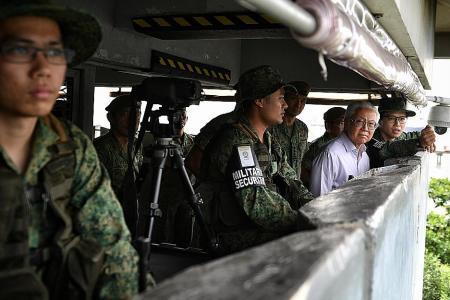 President urges SAF to evolve amid terror menace