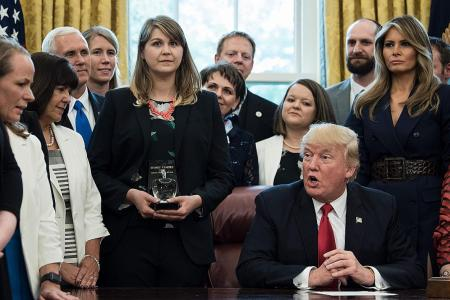 Trump's 100 days in office - in 5 tweets