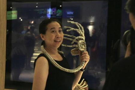 Sci-fi fans celebrate Alien Day in Singapore