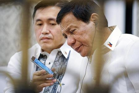 Duterte says he may be too busy to meet Trump