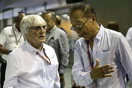 Ecclestone: Singapore GP to stay on F1 calendar