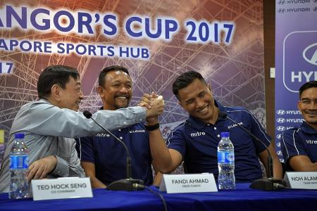 Fandi vows to wow the fans