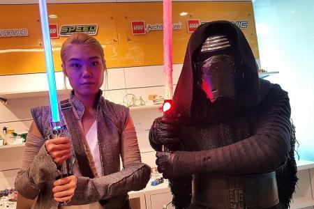 Garage boss spends $100,000 dressing up as Star Wars' Kylo Ren