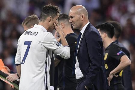Zidane hails 'unique' Ronaldo