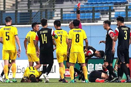 Stags crash out of AFC Cup