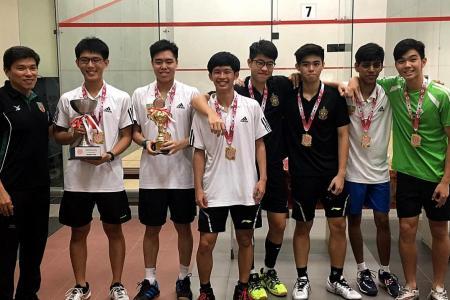 RI crowned A Boys' squash champions