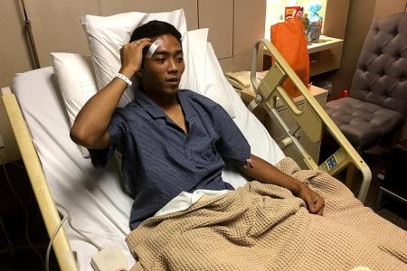 Blood clot scare for Shawal