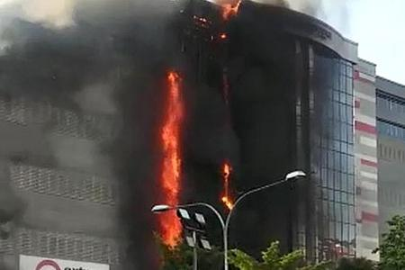 Woman burnt to death in Jurong fire
