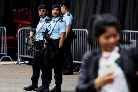 HK cops warn of lone-wolf attacks by ISIS-inspired militants