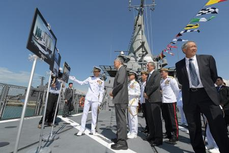 PM Lee: Strong navy is crucial to our nation
