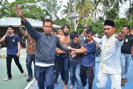 Massive jailbreak in Indonesia
