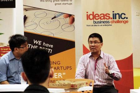 Mr Ben Chew, the founder of Startup Jobs Asia at a past Startup event.