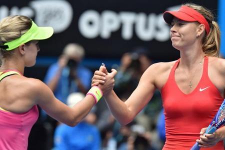 Sharapova sets up mouth-watering match with Bouchard