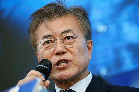 Moon Jae In projected to win Seoul presidency