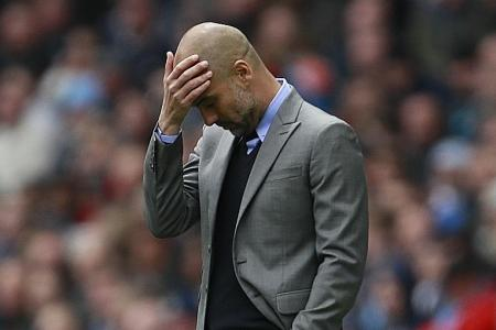 Guardiola says City are most creative EPL team, but not good finishers