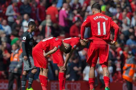 Liverpool slip up - again!
