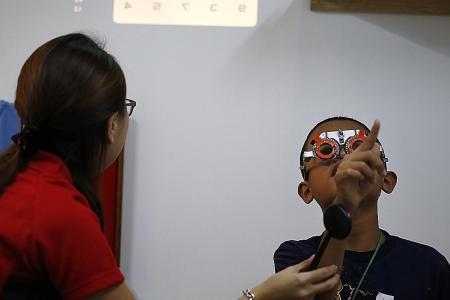 When bad eyesight causes bad grades