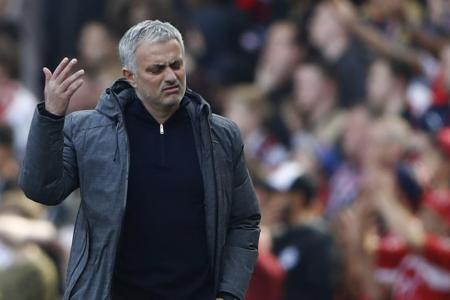 Manchester United manager Jose Mourinho isn't bothered
