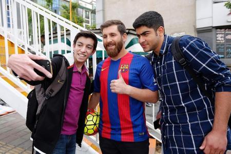 Hi, I'm Messi... from Iran