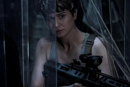 Alien: Covenant star Katherine Waterston on filling Sigourney Weaver's shoes
