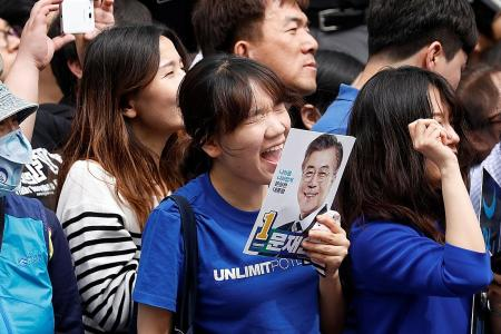 South Korea's frustrated younger voters demand change