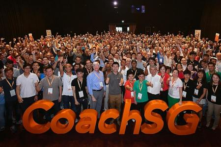CoachSG to provide more support and training for coaches in Singapore