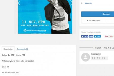 Scalpers out to earn a quick buck on Ed Sheeran concert tickets