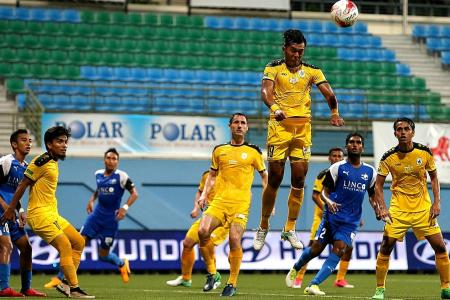 Tampines move into second spot
