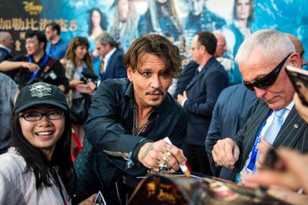 Pirates Of The Caribbean sequel has rare premiere in China