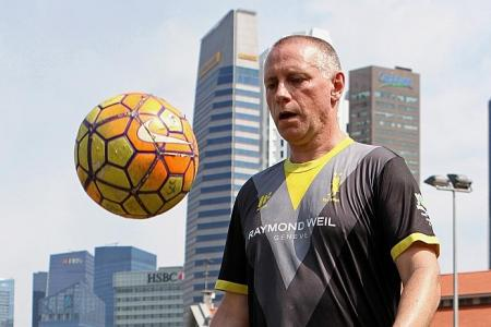 Back injuries don't stop football anchor from keeping fit