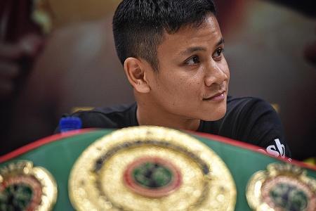 Boxer Ridhwan fired up for world title tilt