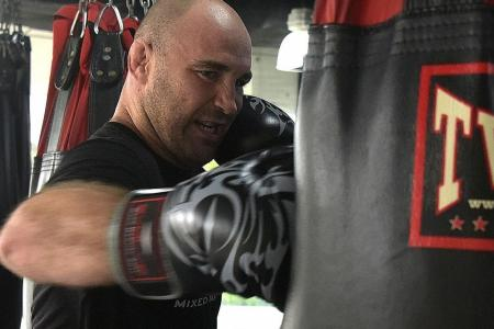 Evolve MMA head coach has fighting spirit