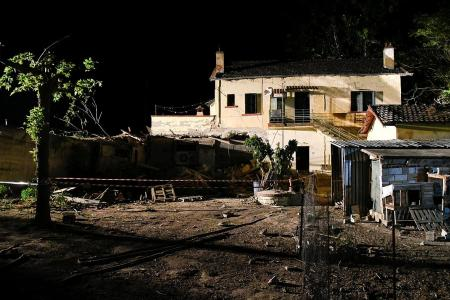 3 killed after Greek train slams into house