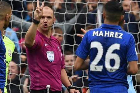 Guardiola praises 'brave' referee for disallowing Mahrez's penalty