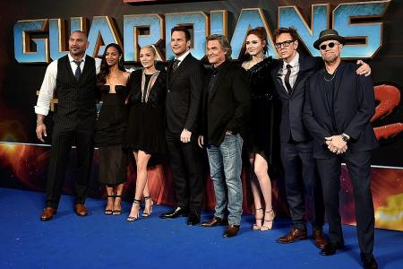 Guardians Vol. 2 still raking in cosmic ticket sales U2 take top spot among live acts for US tour