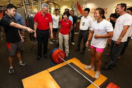 PM Lee vists Singapore Sports Institute