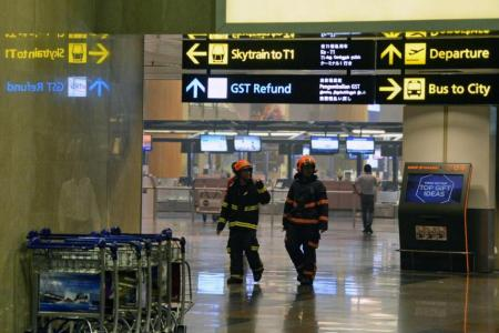Woman who waited for hours for brother arriving at T2: I was not told about fire